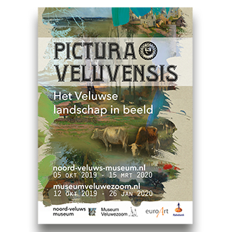 Noord-Veluws Museum - Diverse communicatieuitingen zoals advertenties, posters en flyer